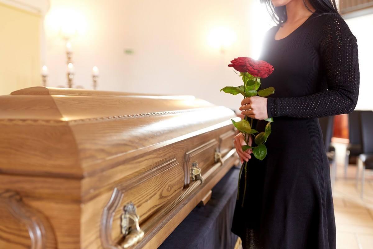 Где и какой гроб купить на похороны