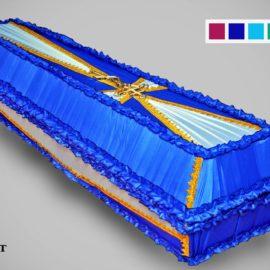 4krestobit scaled 1 270x270 - Гроб обитый Крест