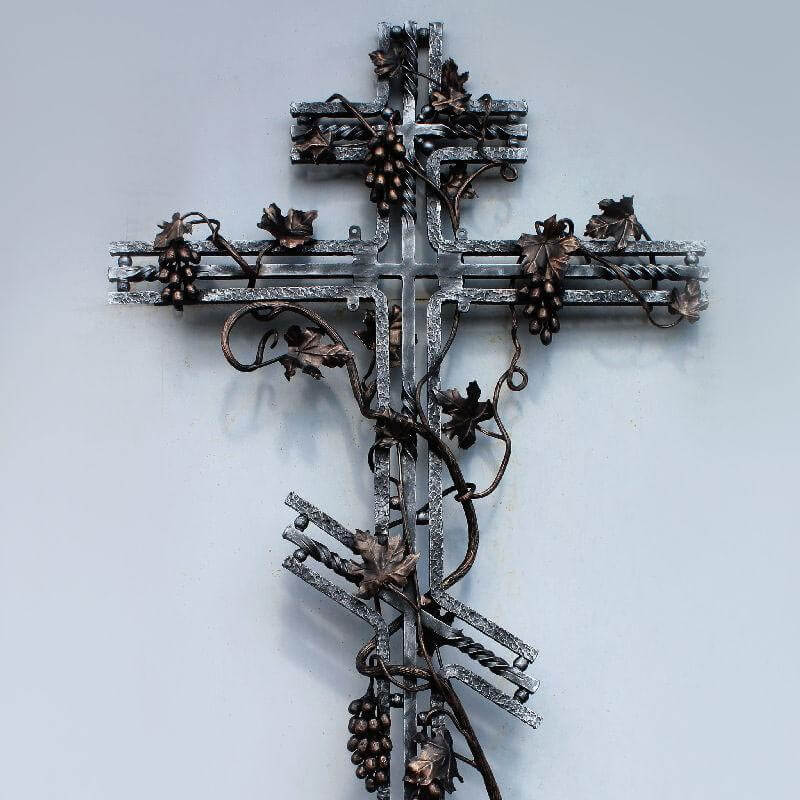 Крест кованый