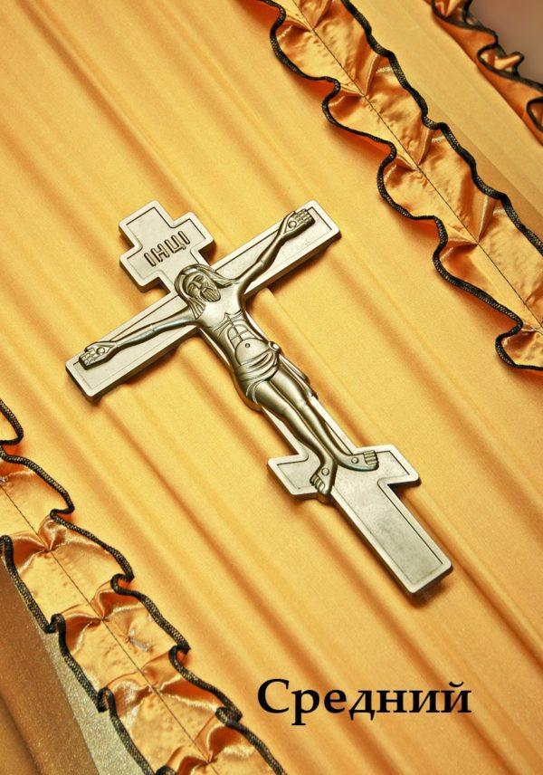krestgrobsredniy 600x856 - Крест с распятием Средний