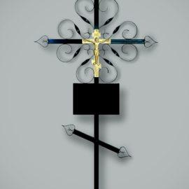 krestmetallzavitushka 270x270 - Крест Металлический Завитушка