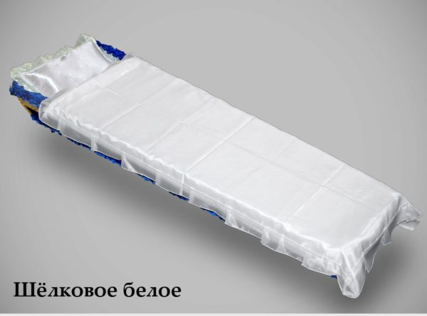pokryvalo shelkovoe beloe 600x445 - Покрывало Шелковое Белое