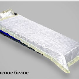 pokryvalo stegannoe atlasnoe beloe 270x270 - Покрывало Атласное Стеганое Белое